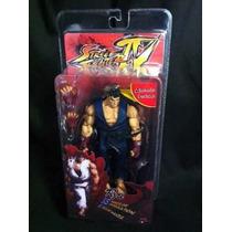 Action Figure Ryu - Street Fighter Iv- Neca - Pronta Entrega