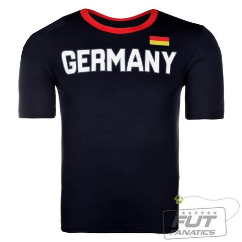 Camiseta Kappa Alemanha Juvenil - Futfanatics - R  17 16196692ab356
