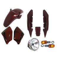 Carenagem Kit Completo Cbx 250 Twister Vermelho 2006/2007