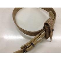 Cinturones Huaso Fino Cuero Crudo Con Funda Claro