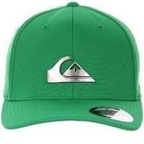 Boné Quiksilver Metal Flex Fit - Verde