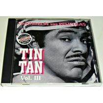 Cd Tin Tan / Canciones De Sus Peliculas Vol 3