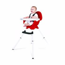 Silla De Comer Nowy Baby Practica Regulable Extraible Rojo