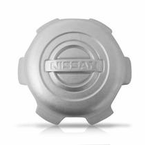 Calota Centro De Roda Nissan Frontier 02 07 Prata