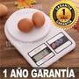 Balanza Cocina Digital Gramera C/ Plato Reposteria 1gr - 5kg
