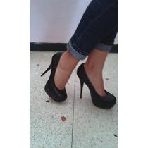 Zapatos De Plataforma Negros