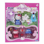 Hello Kitty Cinderella-para Vestir-incluye A Kitty!