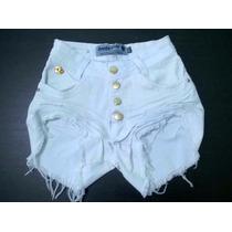 Shorts Hot Pants Disco Pant Cintura Alta