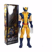 Boneco Wolverine X-men 30cm Frete Gratis Sob Encomenda