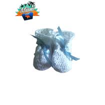 Zapatos Tejidos Tipo Escarpin Para Bebe