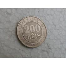 565 - 200 - Réis - 1889 - Cupro Níquel - Brasil.