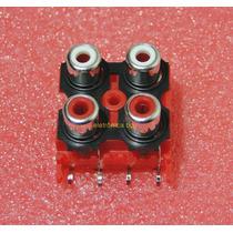 Conector Rca Para Modulos Amplificadores Taramps Stetsom
