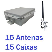 15 Kits Mm2415o Omnidirecional 2.4 Ghz 15 Dbi Aquário +caixa