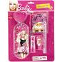 Kit Escolar Set Barbie Com 6 Peças - Tris