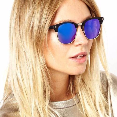 Óculos De Sol Barato Feminino Retro Master Club Proteção Uv - R  35,90 em  Mercado Livre d0e70418c4