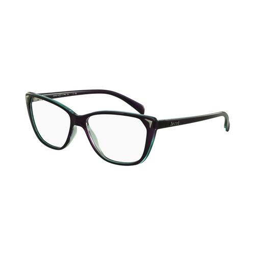 b288a8fc62df6 Óculos De Grau Secret Casual Roxo - R  140,00 em Mercado Livre
