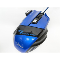 Mouse Gamer 3200 Dpi - Led Usb Gamer Optico 6 Botões