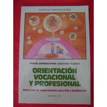 Orientación Vocacional Y Profesional - Manuel Borrego Rivas