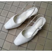 Zapatos De Casamiento Nro. 37, Blancos