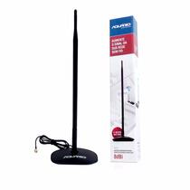 Antena Aquario Omnidirecional Roteador 8dbi Com Base Mm-2480