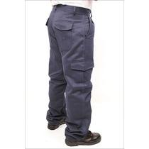 Pantalon Cargo Azul Marino Trabajo . Link Hasta Talle 48