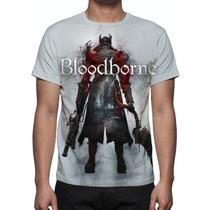 Camisa, Camiseta Game Bloodborne Nightmare Edition