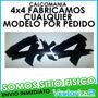 Calcomania 4x4 Todos Los Modelos Por Pedido Marca 3m