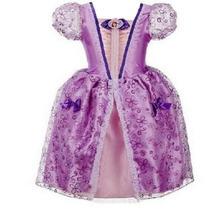 Vestido Fantasia Princesa Sofia Pronta Entrega
