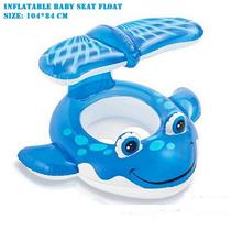 Boia Inflavel Bebê Com Cobertura Intex #56593np Frete Barato