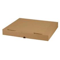 Caja Para Pizza 47.5x31.5x5 Cms Carton Microcorrugado Kraft