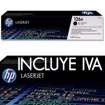 Toner Hp Lasertjet 126a - Ce310a - Negro-generico