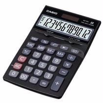 Calculadora De Mesa Ax-12sw-dc 12 Dígitos, Solar E Bateria