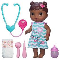 Nova Boneca Hasbro Baby Alive Cuida De Mim Negra B5160