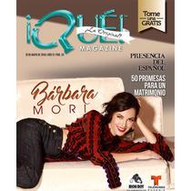 Barbara Mori Revista Que
