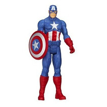 Boneco Articulado Capitão América Hasbro 12pol 30cm