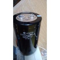 Capasitor Hcg F5a 10000mfd 450vdc Surge 500vdc Condensador