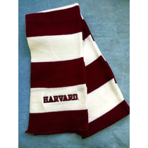 Universidad Harvard. Original. U. S. A. Bufanda.