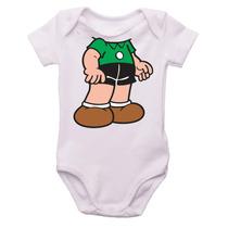 Body De Bebê Turma Da Mônica - Corpo Cebolinha