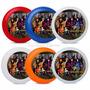 Descendientes Cotillón Personalizado Frisbee, Sofia,maxsteel