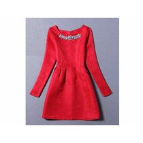 Vestido Rojo Elegante, Hermosos