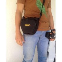 Bolsa Case Bag Nikon D3100 D3200 D5200 D7000 D600 D90