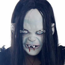 Mascara Latex De Halloween Disfraz Fantasma Vampiro