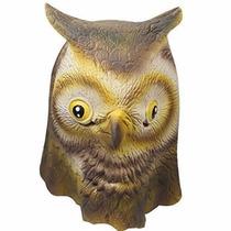 Disfraz Signstek Horror Scary Owl Head Mask For Halloween