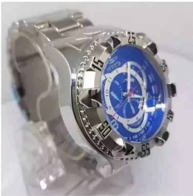 44c978d4d49 Relógio Masculino Prata Aço Pesado Grand Barato Frete Gratis - R  120