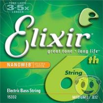 Encordoamento Elixir Contra Baixo 6 Cordas 040 Kadu Som
