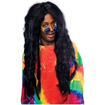 Disfraz Niño De Jamaica Rasta Peluca Adulto Halloween Acces