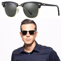 Gafas De Sol Ray Ban Rb3016 W0365 Clubmaster Original G-15