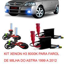 Kit Xenon H3 8000k Para Farol Milha Astra 1999 A 2012 ¿
