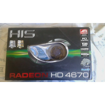 Vga His Radeon Hd4670 1024mb (1gb) Ddr3 Iceq Pci-e H467qo1gh