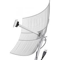 Antena Aquario Usb 2.4 Ghz - 25 Db - 10 Mts Cabo - Usb2510
